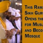 In Dubai, A Sikh Gurudwara Opens the Doors for the Muslims and Becomes a Mosque