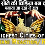 Richest Cities of India | India has become a Gold Bird | Pakistani Reaction
