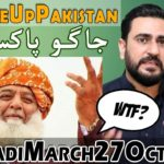 Angry Pakistani Reaction on Maulana Fazlur Rehman Azadi March on October 27