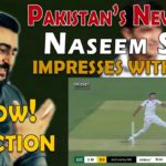 Pakistan Young Fast Bowler Naseem Shah Impresses With Pace | Reaction