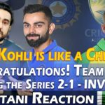Pakistani reaction on INDIA VS AUSTRALIA, 3RD ODI 2020, MEN IN BLUE WINS SERIES 2-1