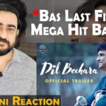 Dil Bechara Official Trailer Review and Reaction | Sushant Singh Rajput | IAmfawad