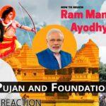 Pakistani Reacts to Ram Mandir Bhumi Poojan and Foundation Stone | Babri Mosque