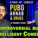 Pubg, Arnab & Drugs Reaction   Stand Up Comedy by Munawar Faruqui   IAmFawad