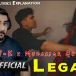 Remarkable and Thought-Provoking  CHEN-K x Mudassar Qureshi – Legacy – Punjabi Urdu Rap 2020